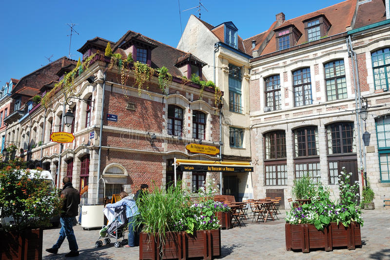 Франция lille стоковые изображения rf