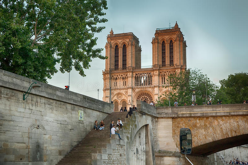 Франция notre paris dame de Франции cathedrale стоковое фото rf