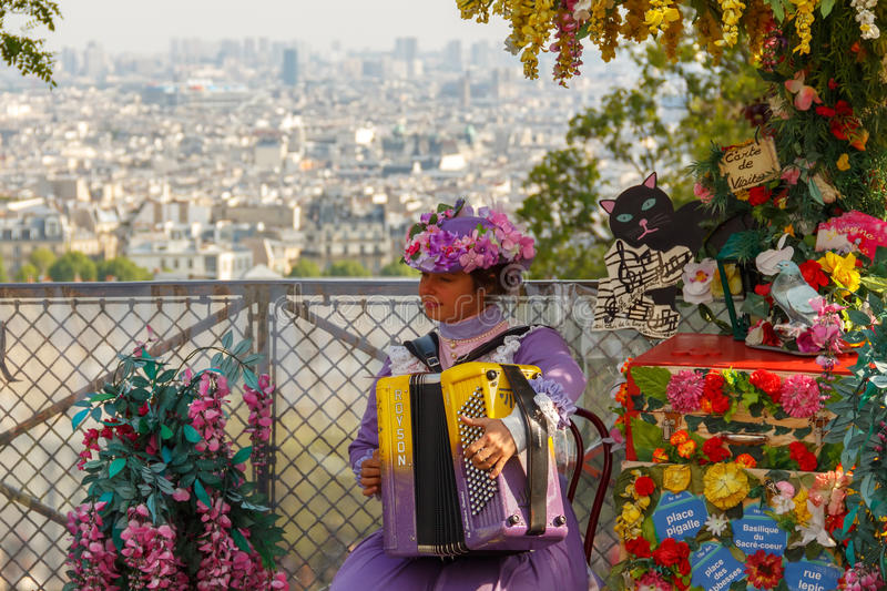 Франция paris Montmartre стоковые изображения rf