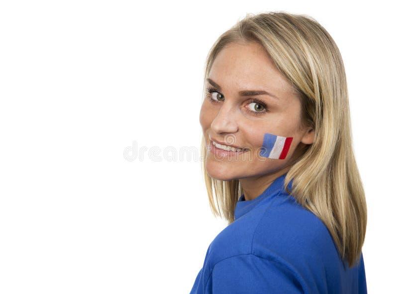 Французская девушка стоковое фото