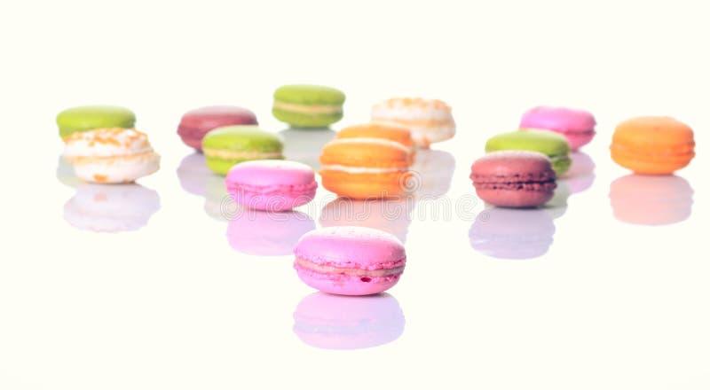 Французские сладостные macaroons деликатеса стоковые фото