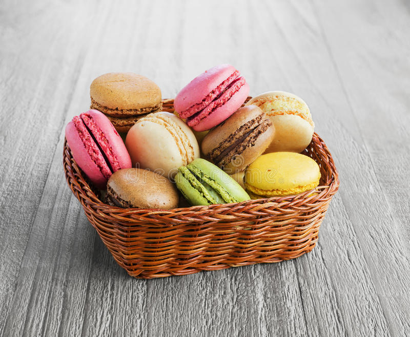 французские macarons стоковое фото rf