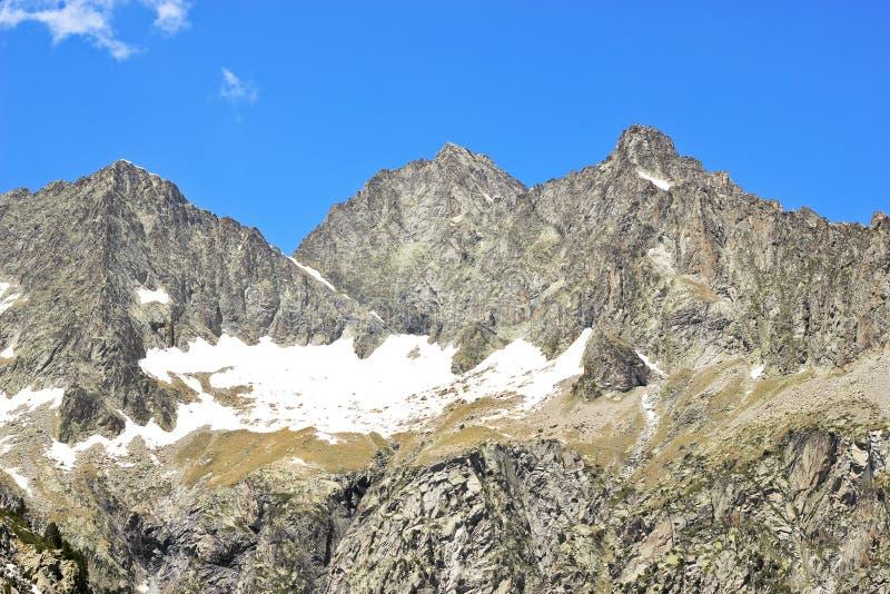 французский взгляд pyrenees природы стоковые изображения