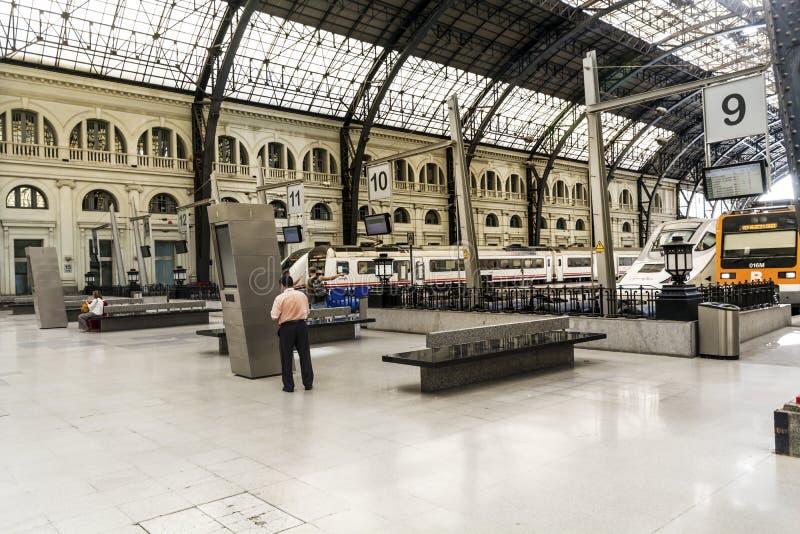 Французский вокзал в Барселоне стоковая фотография