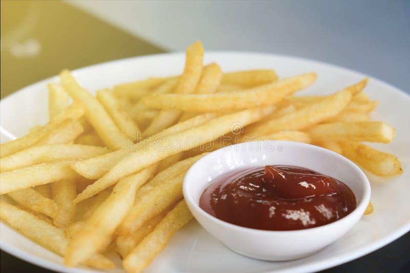 Французский картофель фри стоковое фото rf