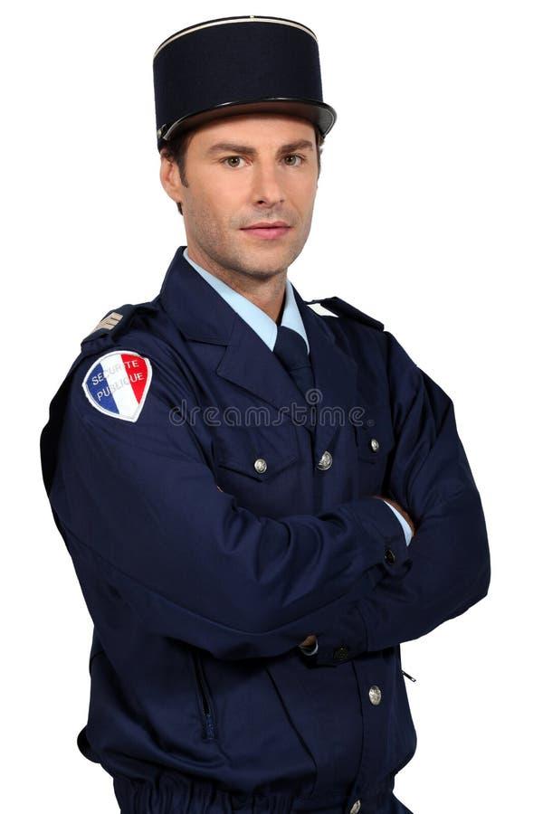 французский полицейский стоковые фото