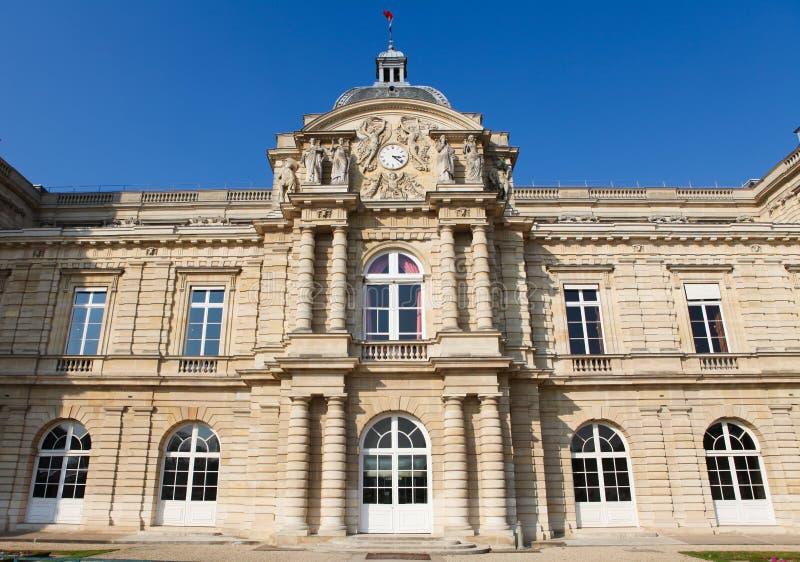 французский сенат paris стоковые фотографии rf