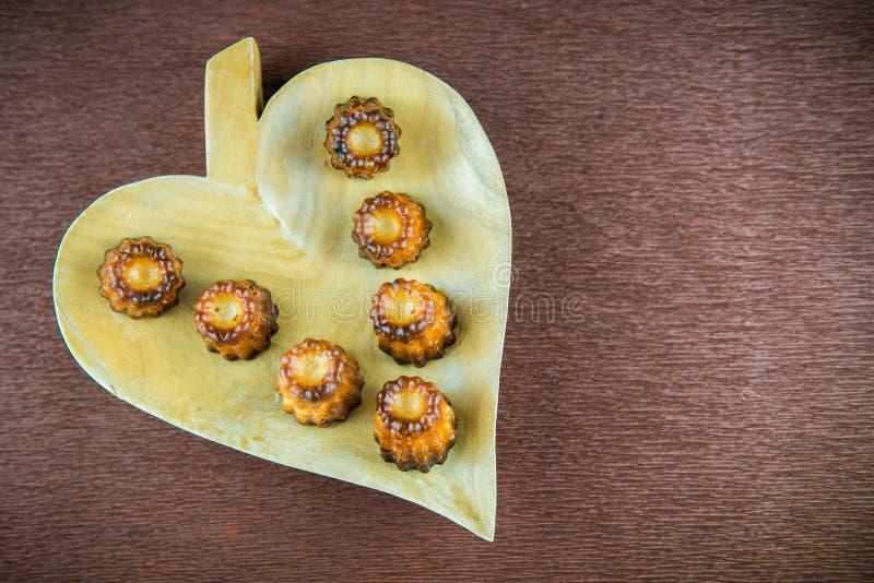 Французский сладостный десерт стоковое фото
