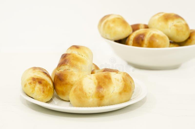 Французский хлеб молока стоковые фотографии rf