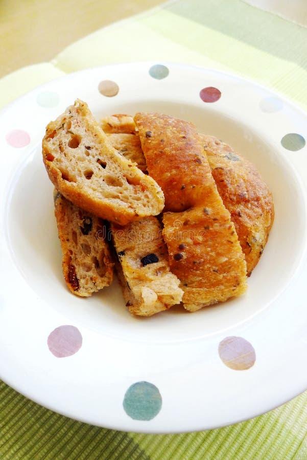 Французский хлеб, Fougasse стоковые изображения rf