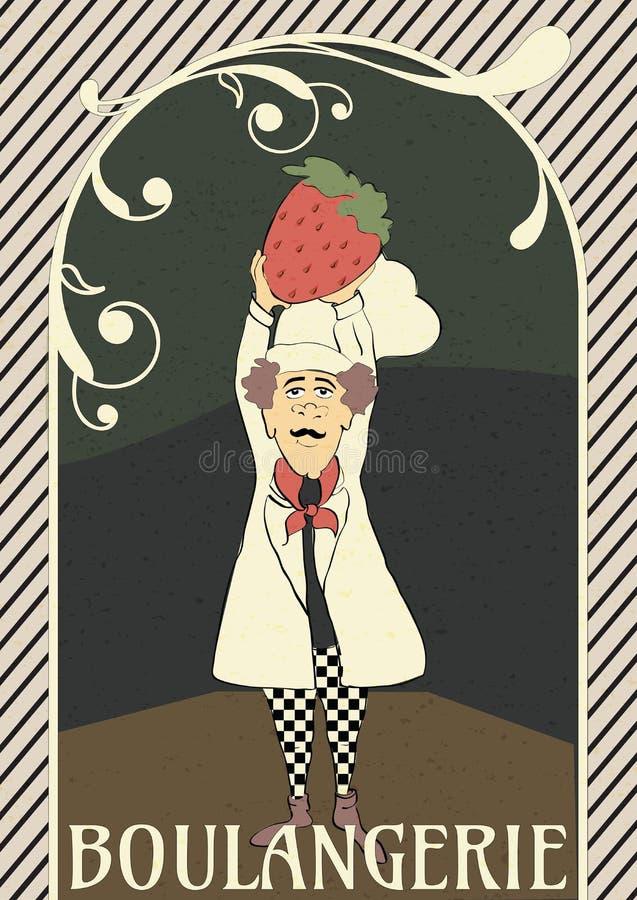 Французский шеф-повар стоковая фотография rf