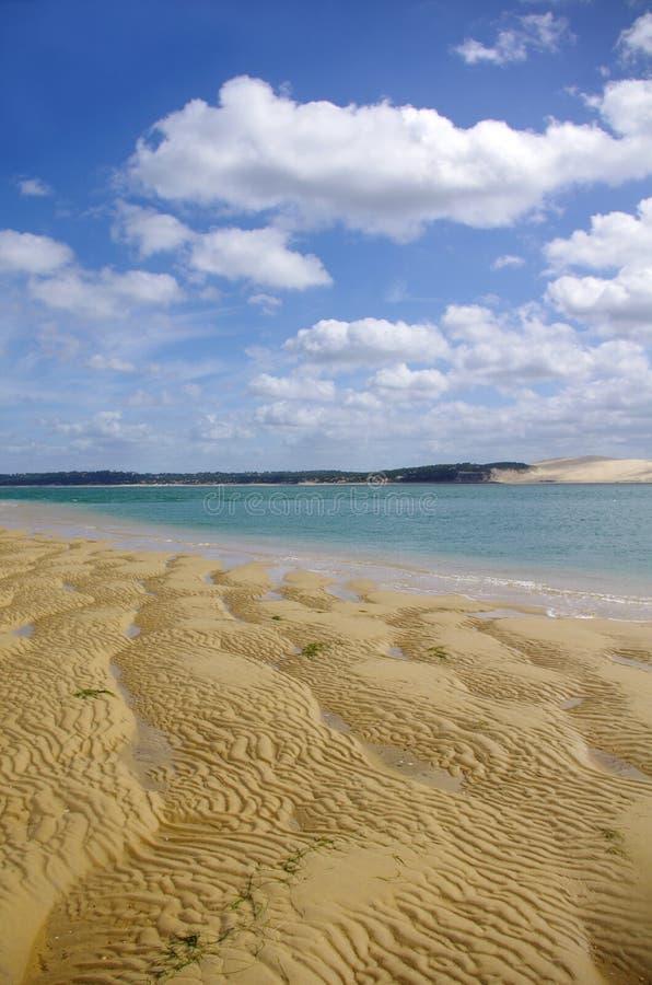 Французский seascape стоковое изображение rf