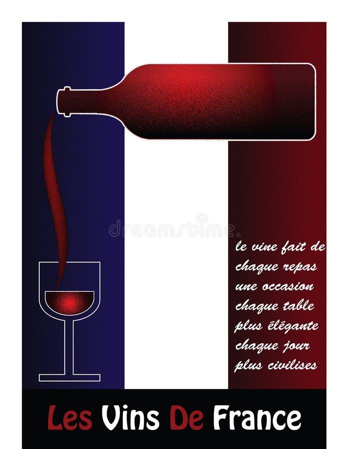 Французское вино стоковая фотография
