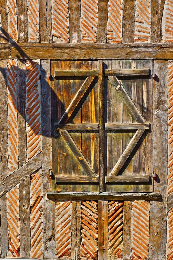 Французское окно стоковое изображение rf