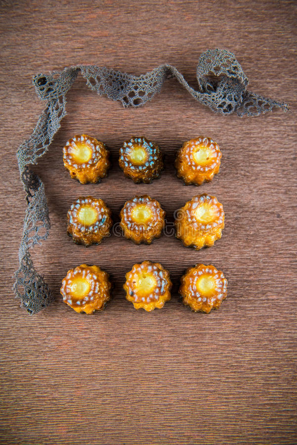 Французское печенье для завтрака стоковая фотография