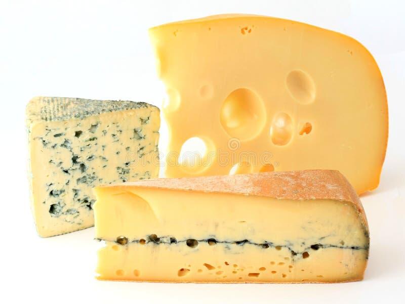 Download франчуз сыра 3 разнообразия Стоковое Изображение - изображение насчитывающей прессформа, изолировано: 6857511