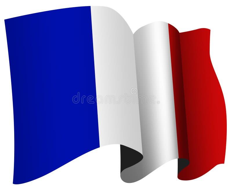 франчуз флага иллюстрация штока