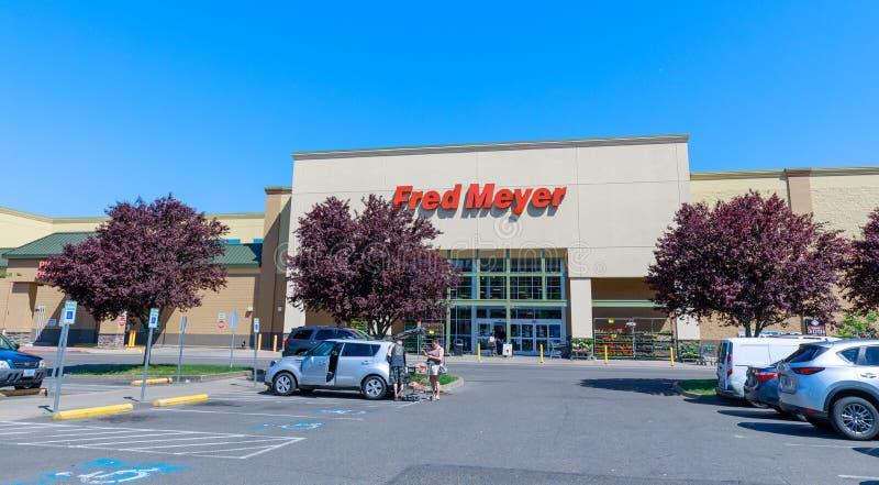 Фред Мейер, Inc , цепь superstores гипермаркета в Портленде, Орегоне стоковое фото rf