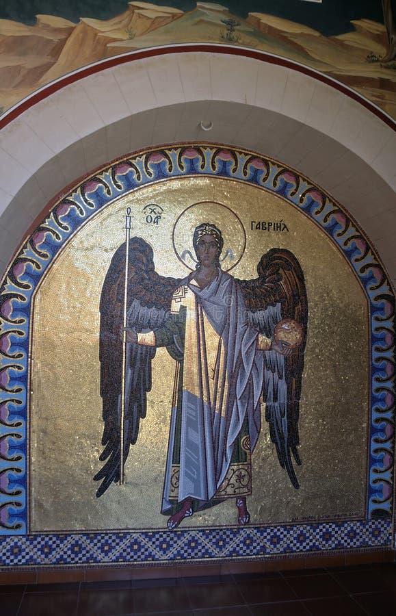 Фрески в монастыре Kykkos стоковое изображение rf