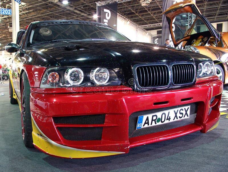 фронт автомобиля bmw стоковые изображения rf