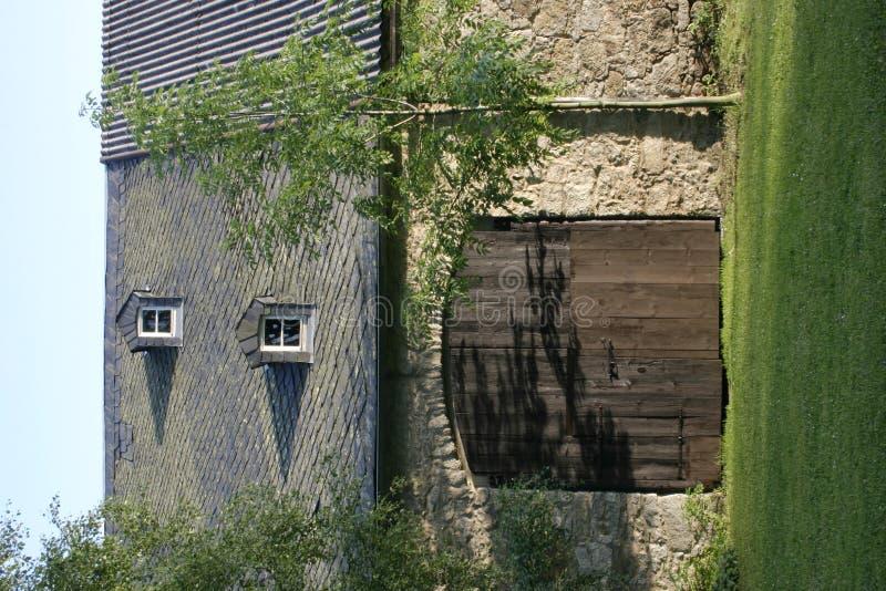 Download фронт амбара стоковое изображение. изображение насчитывающей строя - 480149