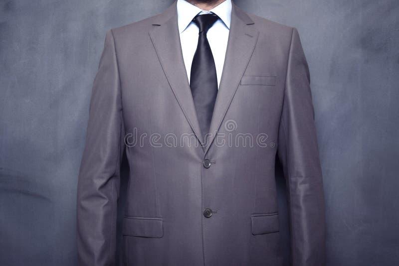 Фронт бизнесмена классн классного стоковая фотография rf