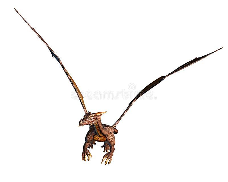 фронт мухы дракона иллюстрация штока