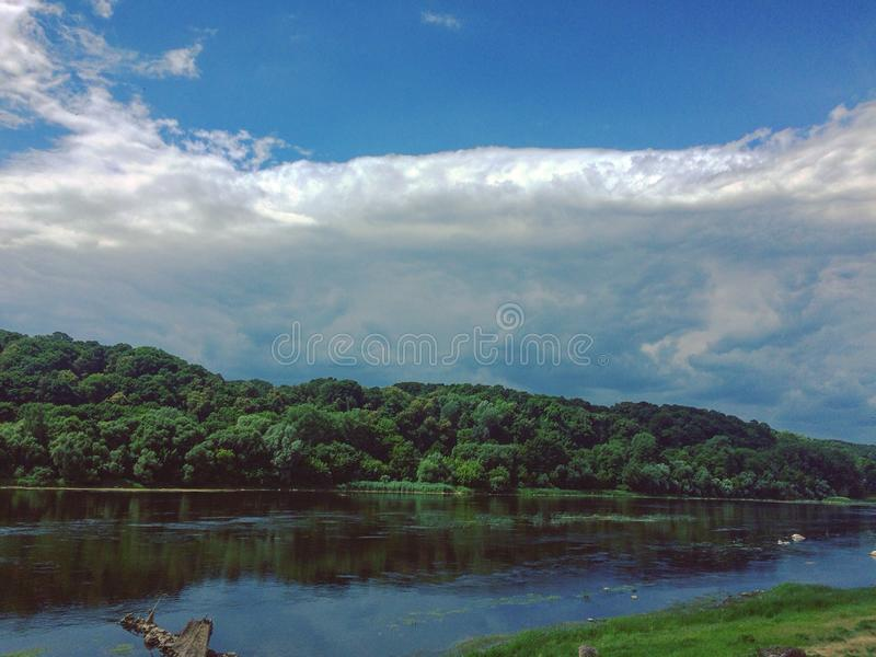 Фронт облаков стоковое изображение