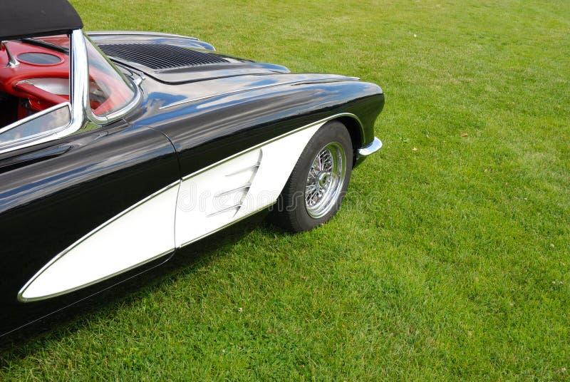 фронт corvette стоковое изображение rf