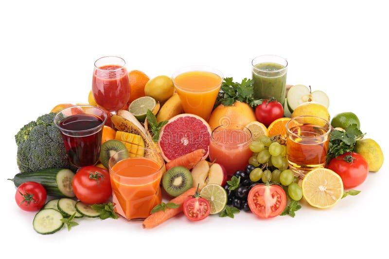 Фруктовый сок фруктов и овощей стоковое фото