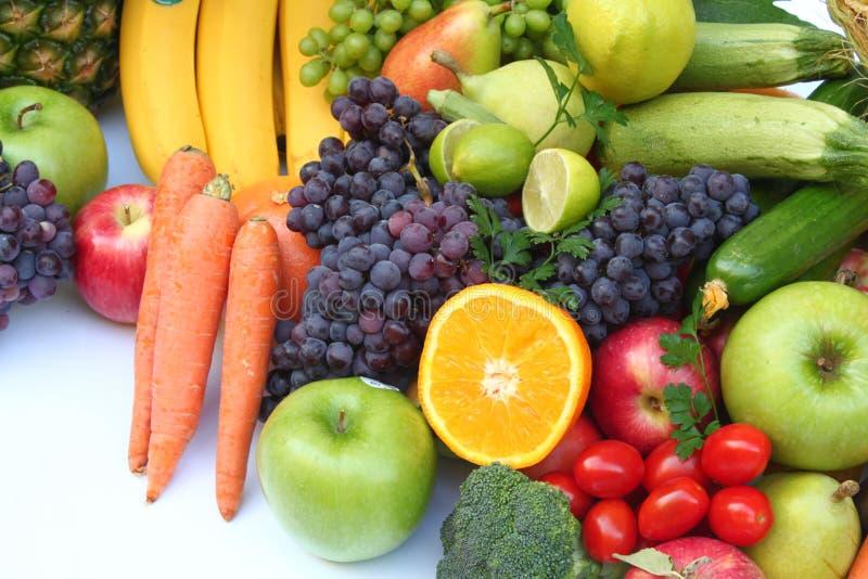 Фрукт и овощ стоковая фотография