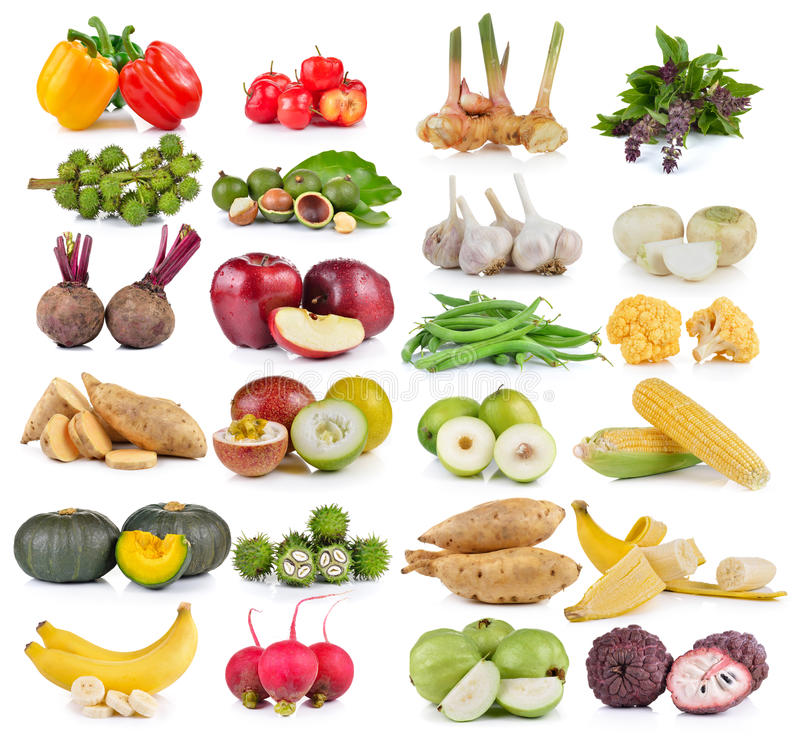 Фрукт и овощ стоковое фото rf