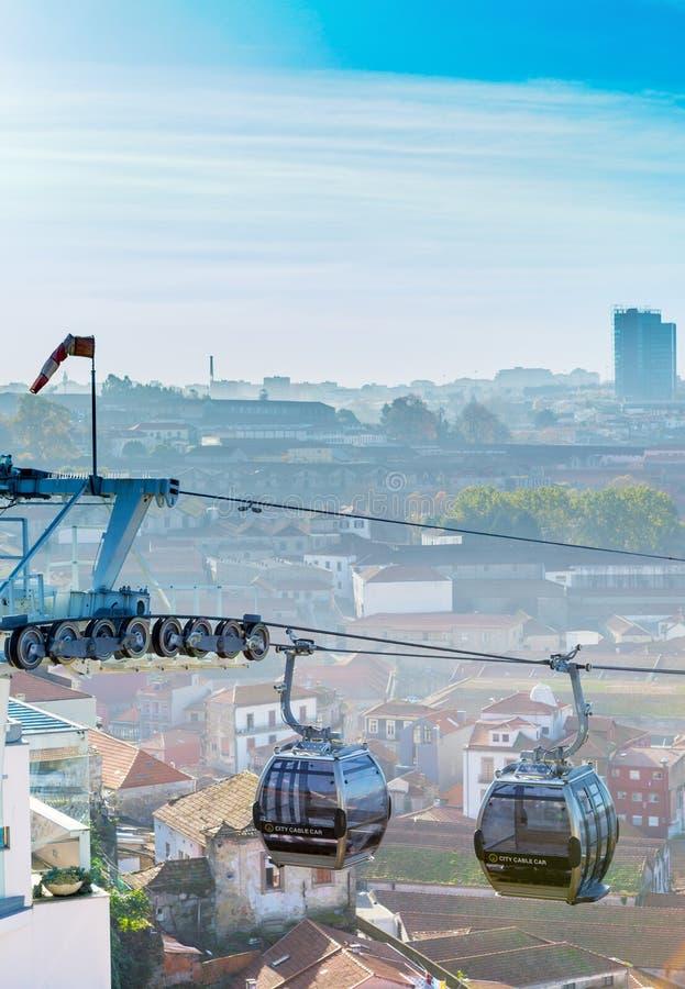 Фуникулеры города стоковое изображение