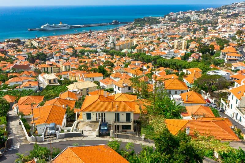 Фуншал, остров Мадейры, Португалия стоковое фото rf