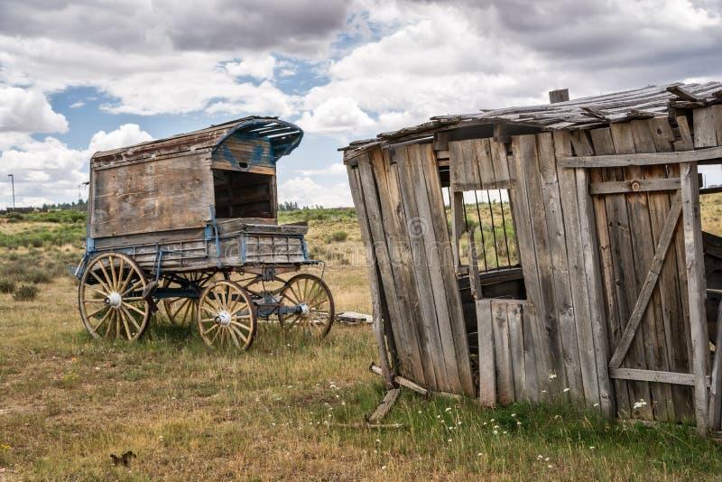 Фура старого шерифа ковбоя времени стоковые изображения rf