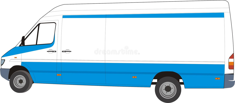 фургон конструкции поставки ваш иллюстрация штока