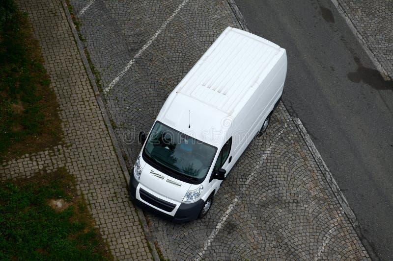 фургон стоковое изображение rf