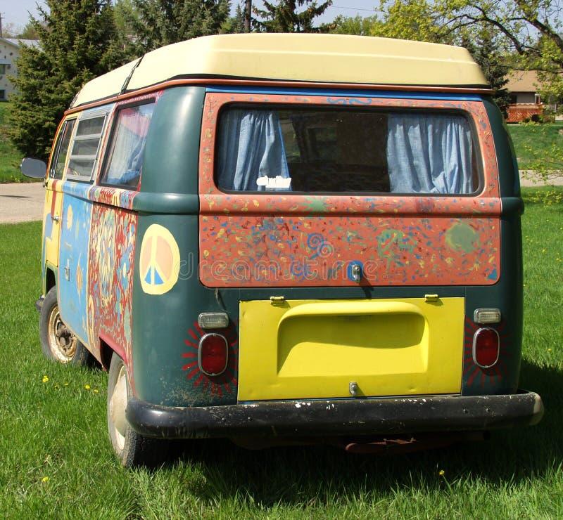 фургон hippie стоковые изображения
