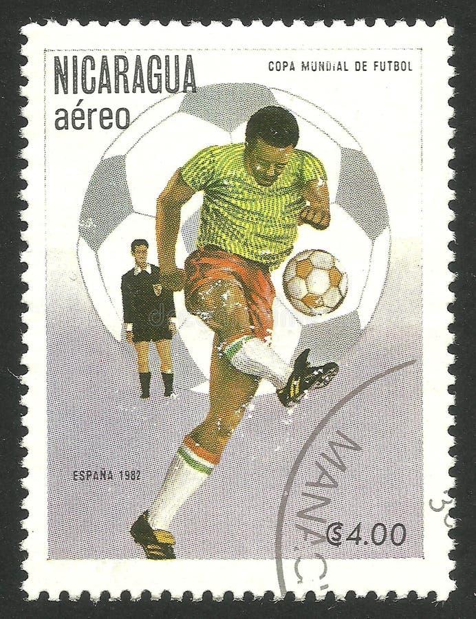 Футболист с шариком стоковые изображения