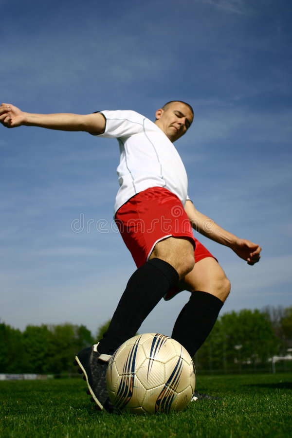 Футболист #10 стоковые изображения