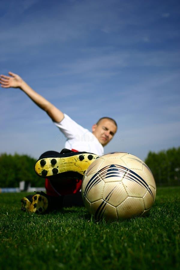 Футболист #6 стоковые изображения rf