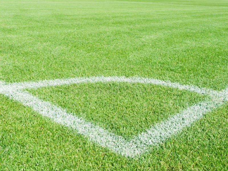 футбольная игра поля стоковые фото
