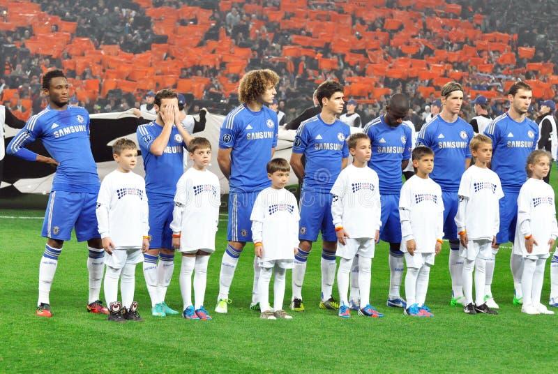 Английская футбольная команда челси фото