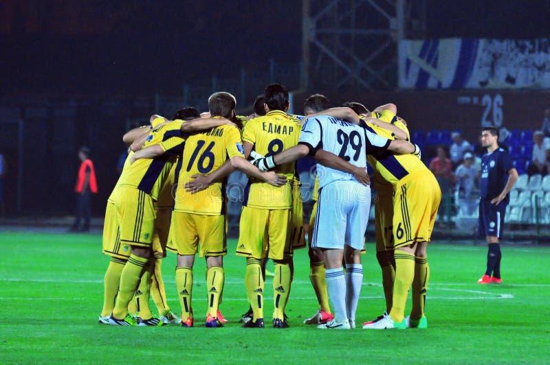 Футбольная команда Metalist совместно стоковое фото rf