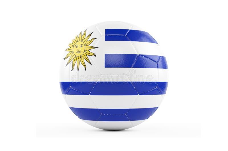 футбольный мяч 3d изолированный на белизне иллюстрация штока