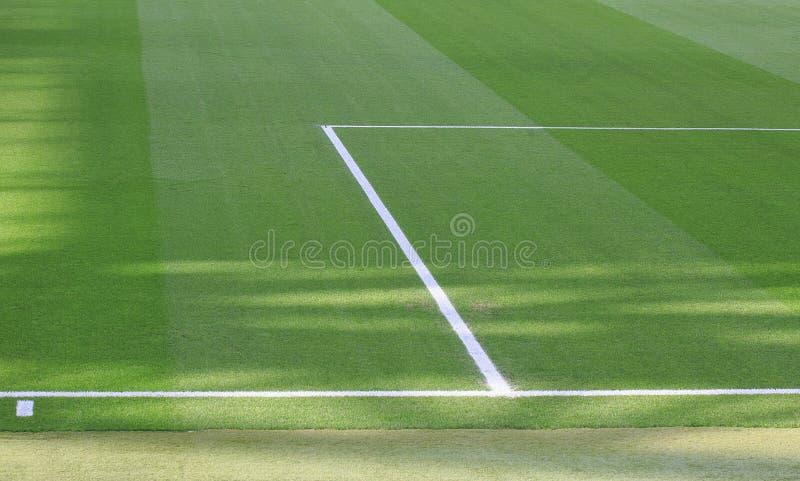 Футбольный стадион выравнивает детали стоковая фотография rf