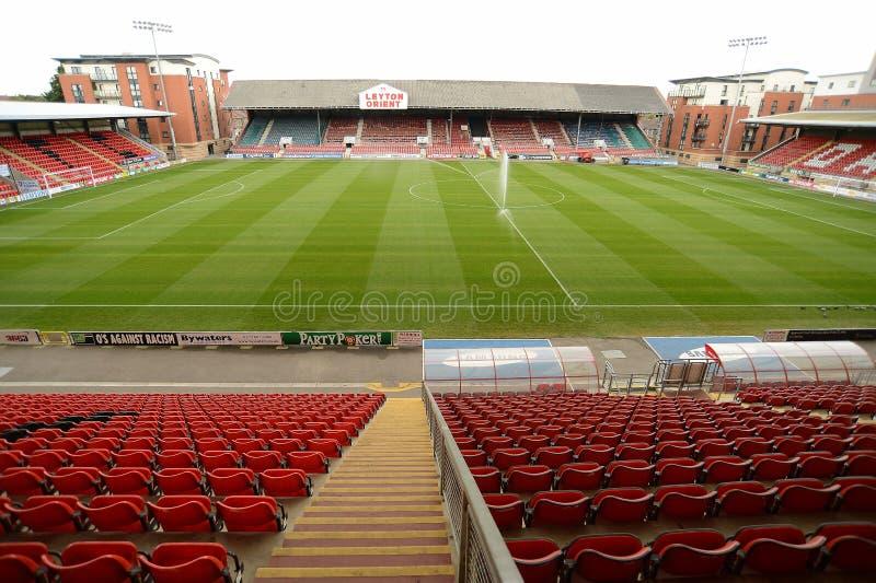 Футбольный стадион стоковые изображения rf