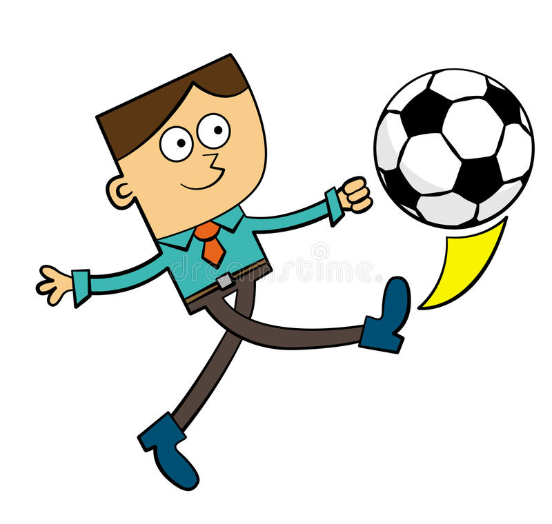 Футбол дела иллюстрация штока