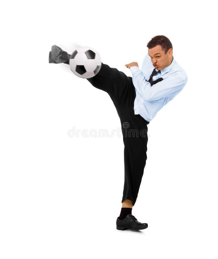 футбол дела стоковые фото