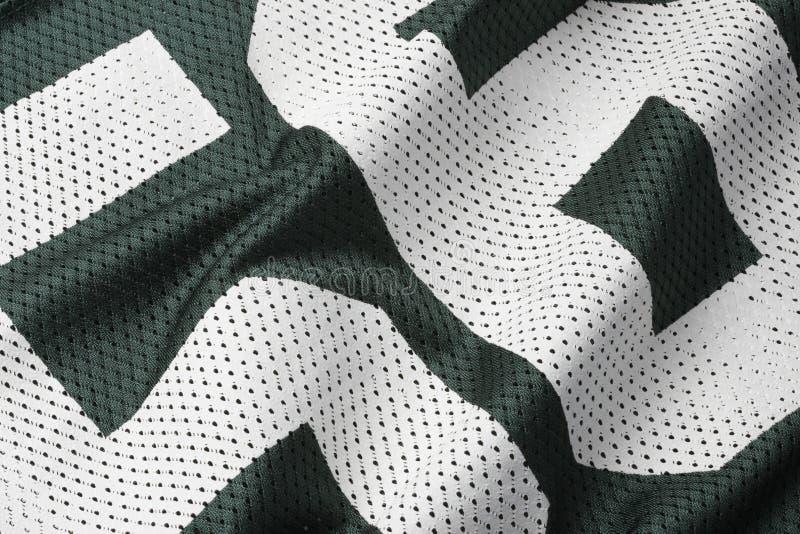 футбол зеленый Джерси стоковые изображения